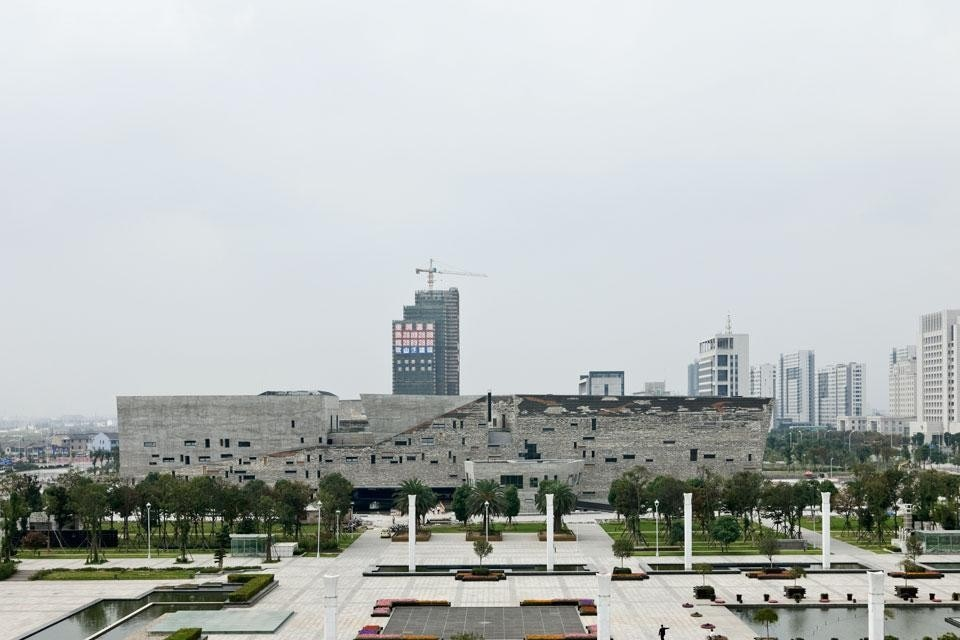 Top and Above: The east