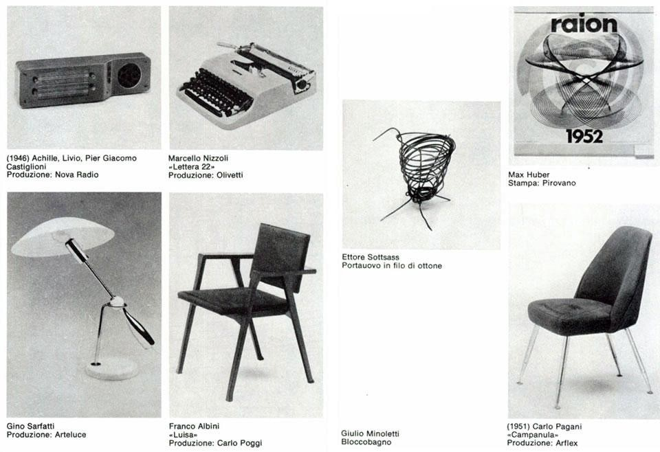 <em>Italian design in the 1950s</em>, Domus 578 / January 1978 page detail