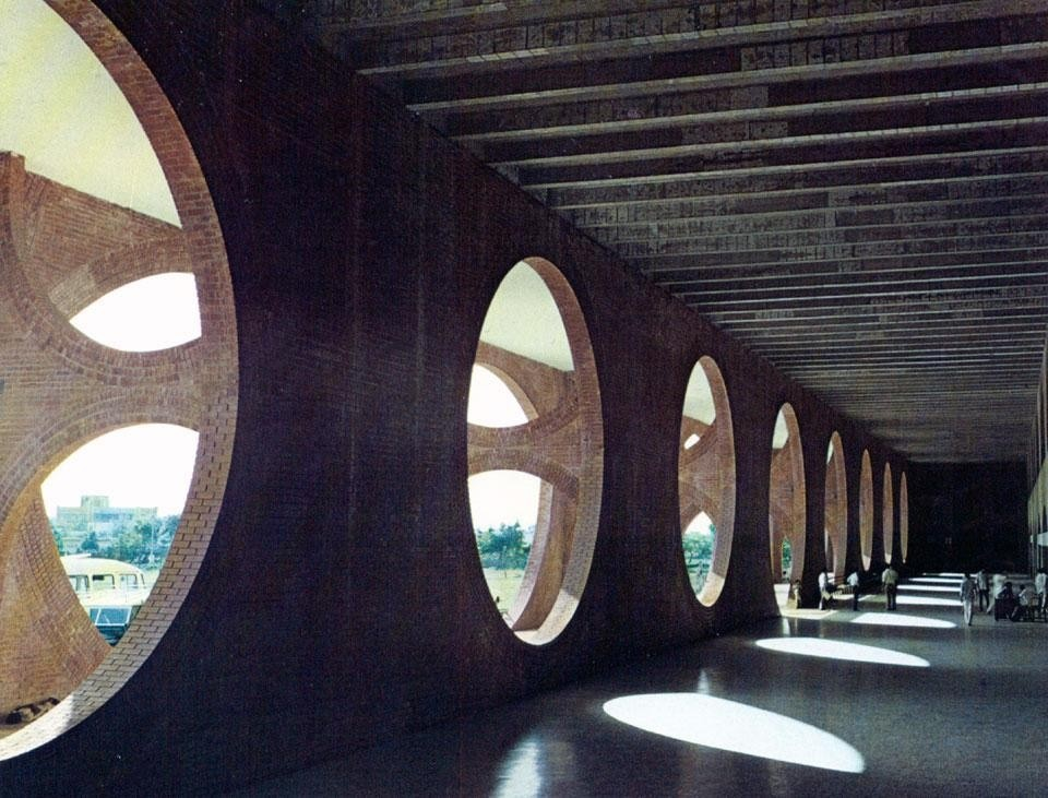 Louis kahn in dacca for Louis i khan