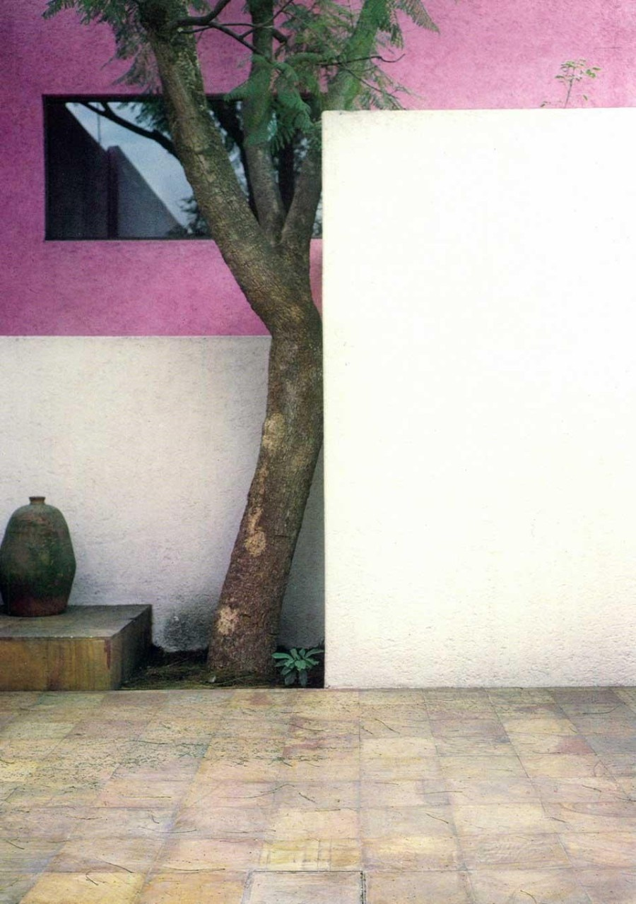 Luis Barragán, Gilardi House, Mexico City. Details from the pages of Domus 611 / November 1980