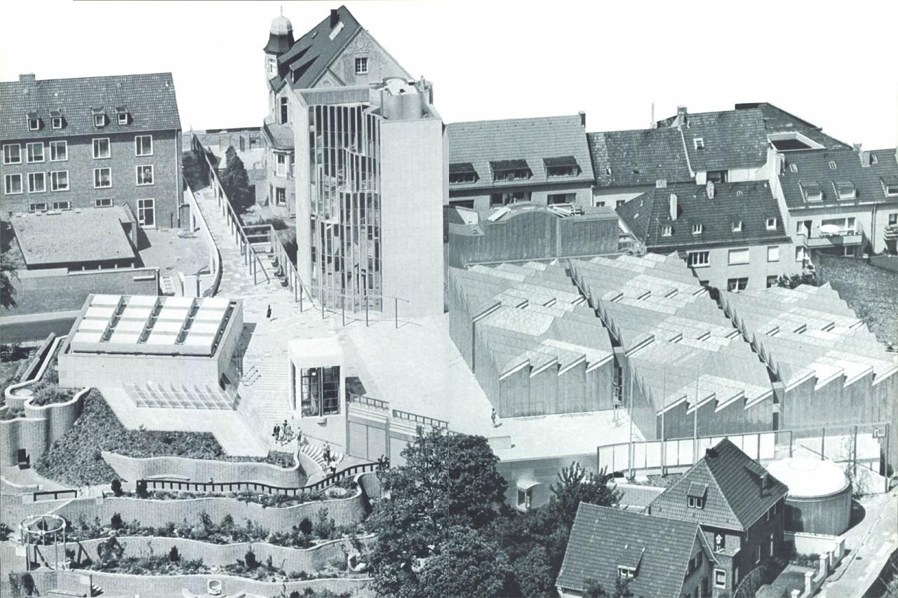 In Monchengladbach Hans Hollein S Museum Domus
