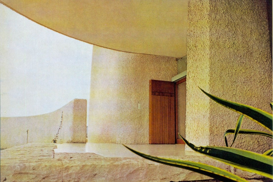 Luigi Moretti, Villa Saracena, from Domus Archives, 1970