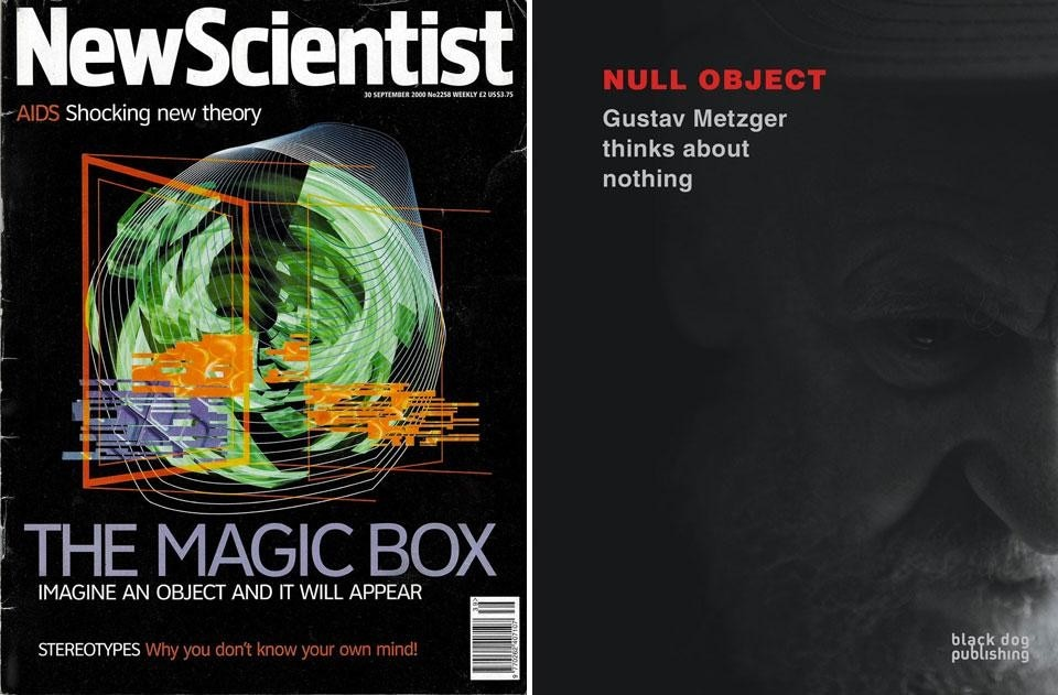 Left, The cover of the <em>New