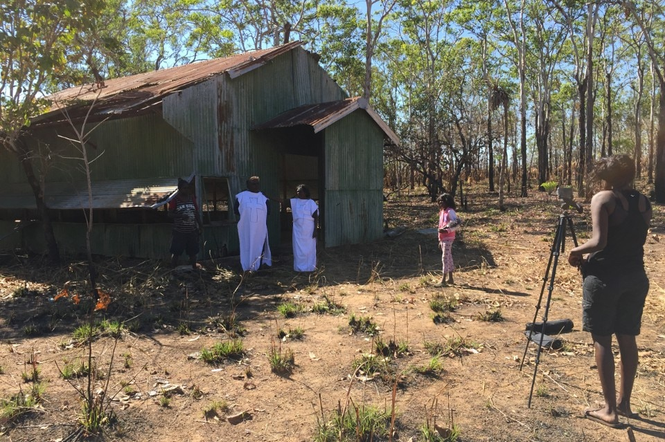 The Karrabing Film Collective, Wutharr, behind the scenes