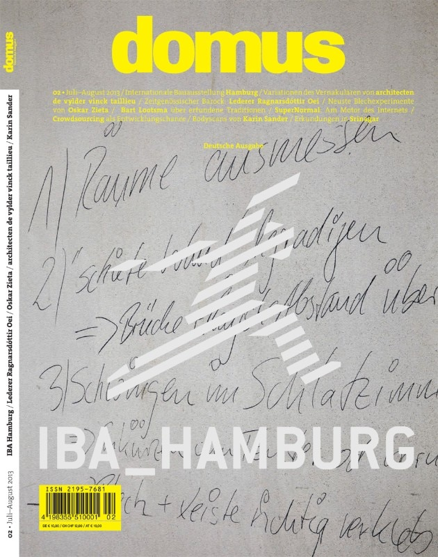 Domus Germany 02, cover