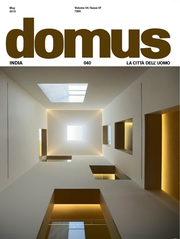 Domus India 040, May 2015, cover