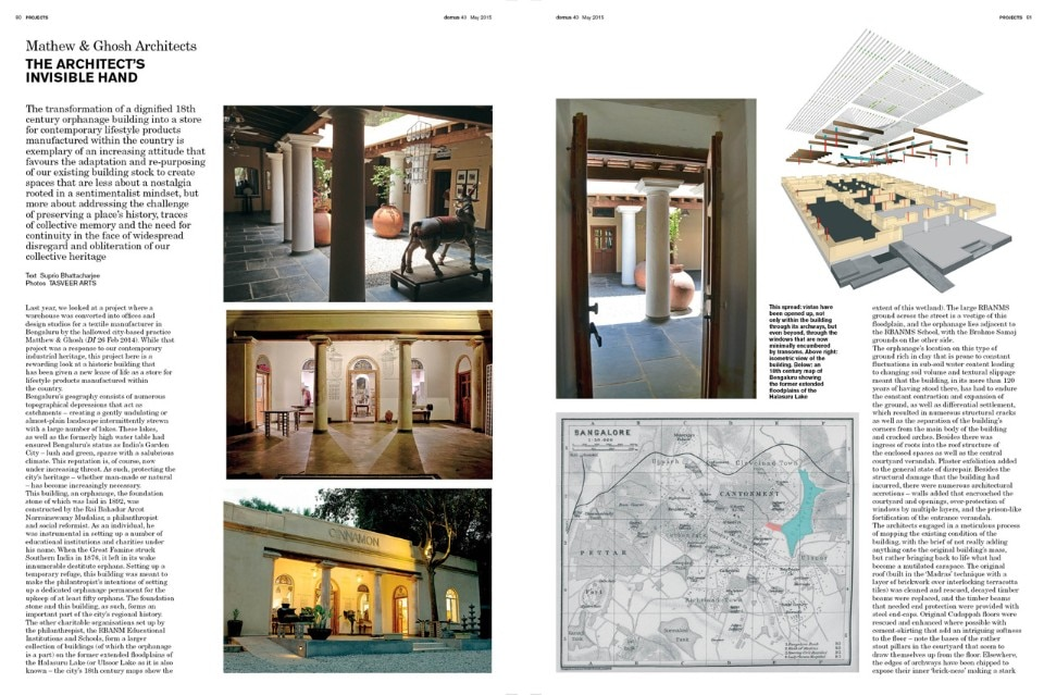 Domus India 040, May 2015