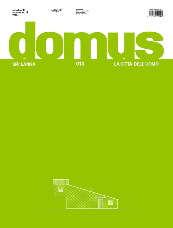 Domus Sri Lanka, 013 October–November 2015