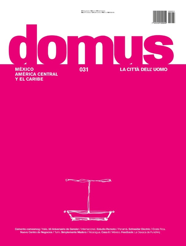 Domus Mexico Central America and Caribbean, May–June 2016, cover