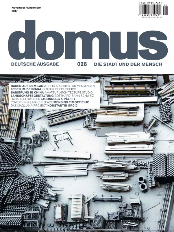 Domus Germany 28 – November 2017 – cover