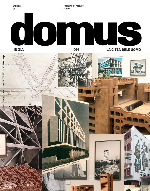 Domus India – edition 66 – cover