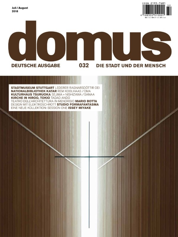 Domus Germany 32, July/August 2018