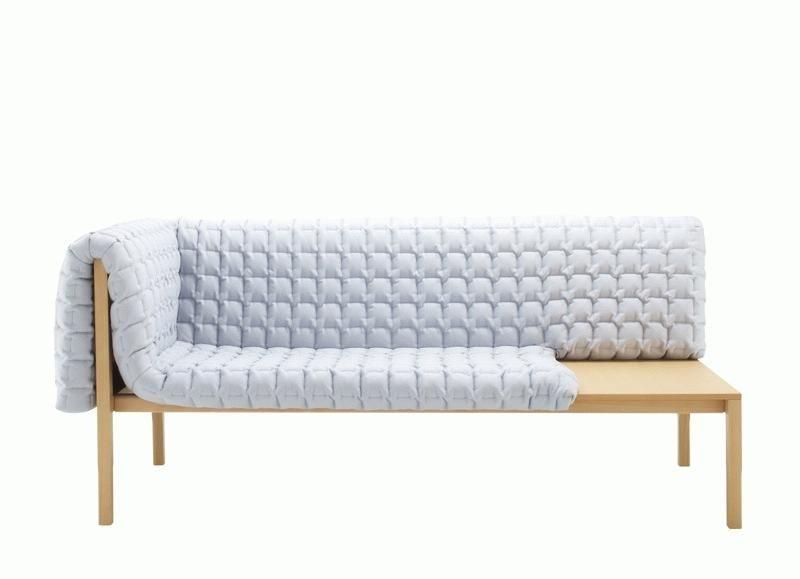 inga semp 39 s new settee for ligne roset domus. Black Bedroom Furniture Sets. Home Design Ideas