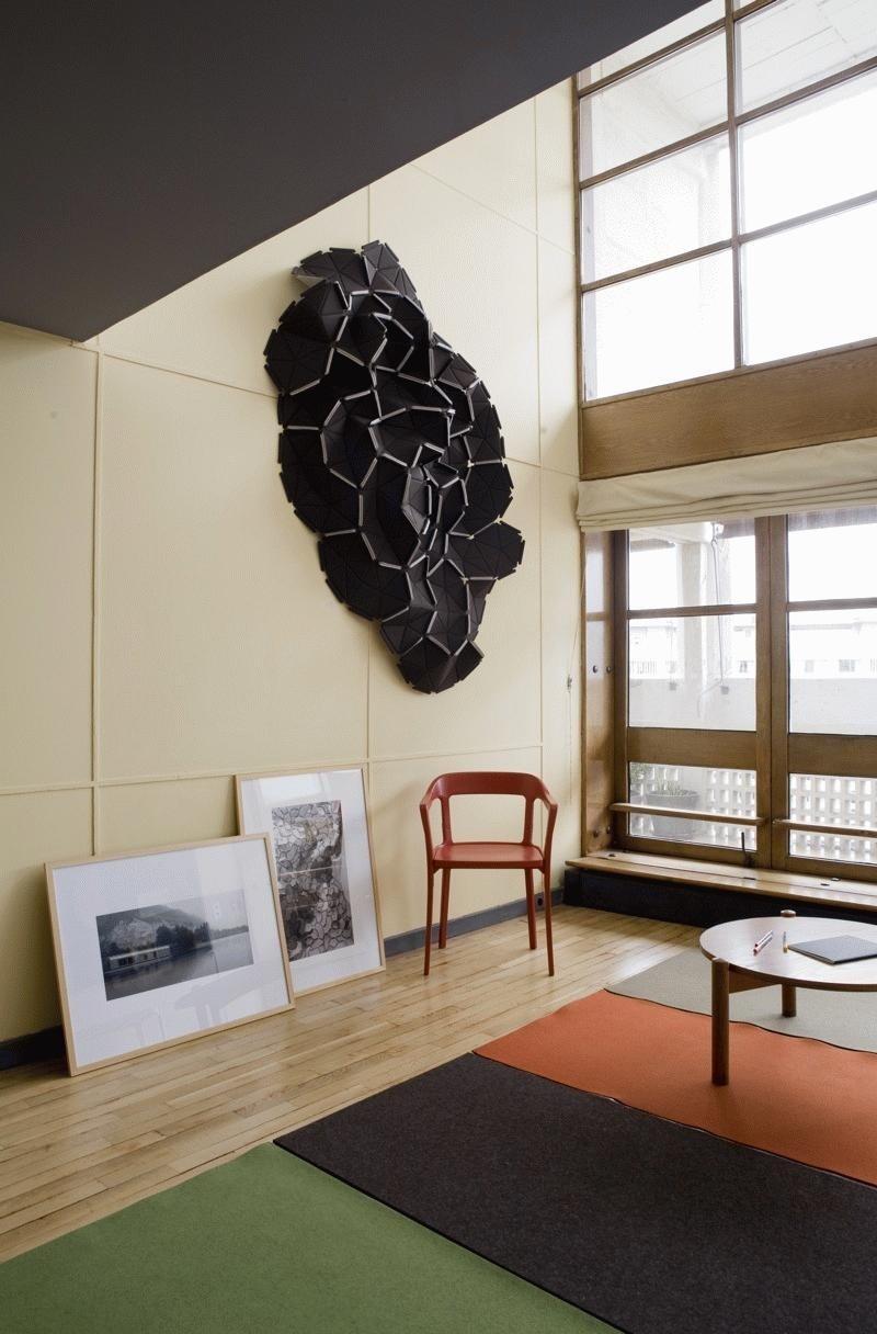 apartement 50 at la cit radieuse marseille domus. Black Bedroom Furniture Sets. Home Design Ideas