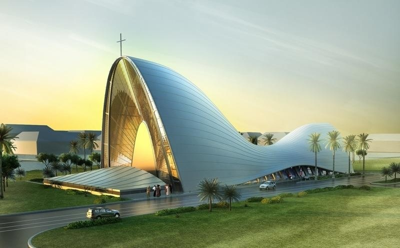 DOS Architects win a competition to build a church in ...