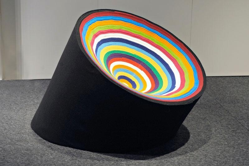 "The Recycled ""Rrround"" Seat"