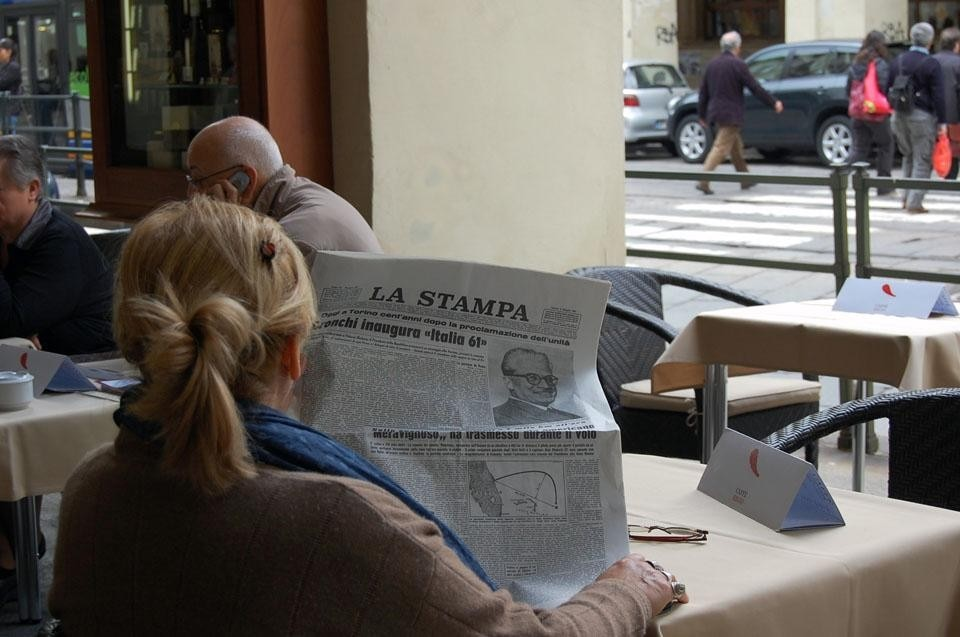 <i>Appare il futuro terribilmente vicino</i> (The future is terribly near), 6 May 2010. 