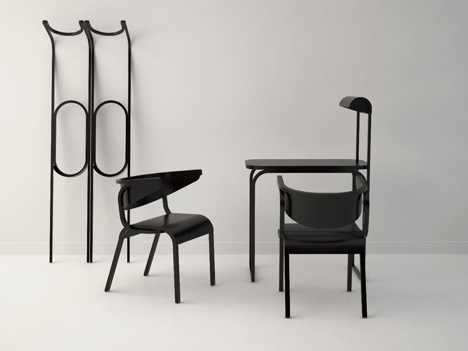 Pierre Favresse, the furniture collection