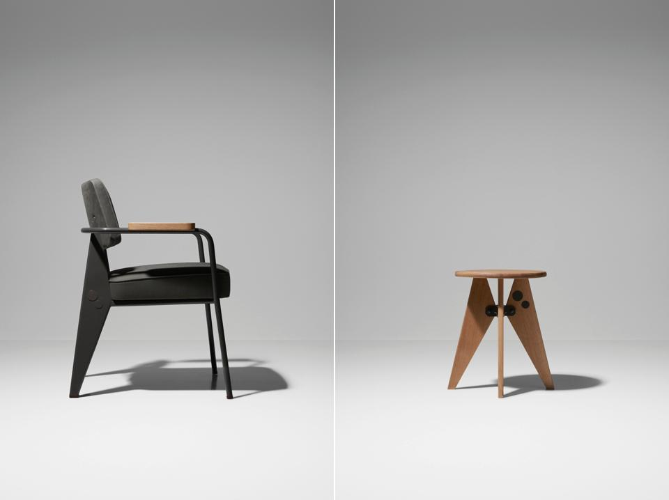 Jean prouv by g star raw for vitra for Industrial design chair