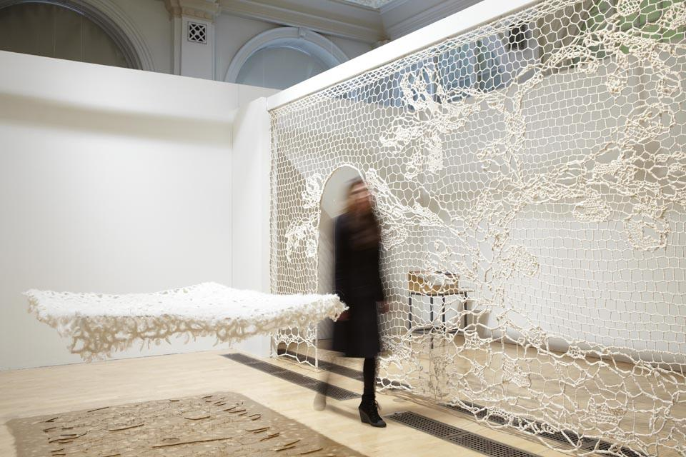Annie Bascoul will display two existing pieces that work together as an