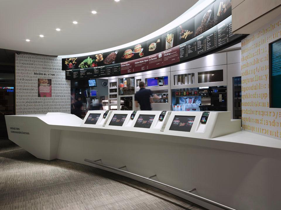 New interior design for mcdonald s by patrick norguet