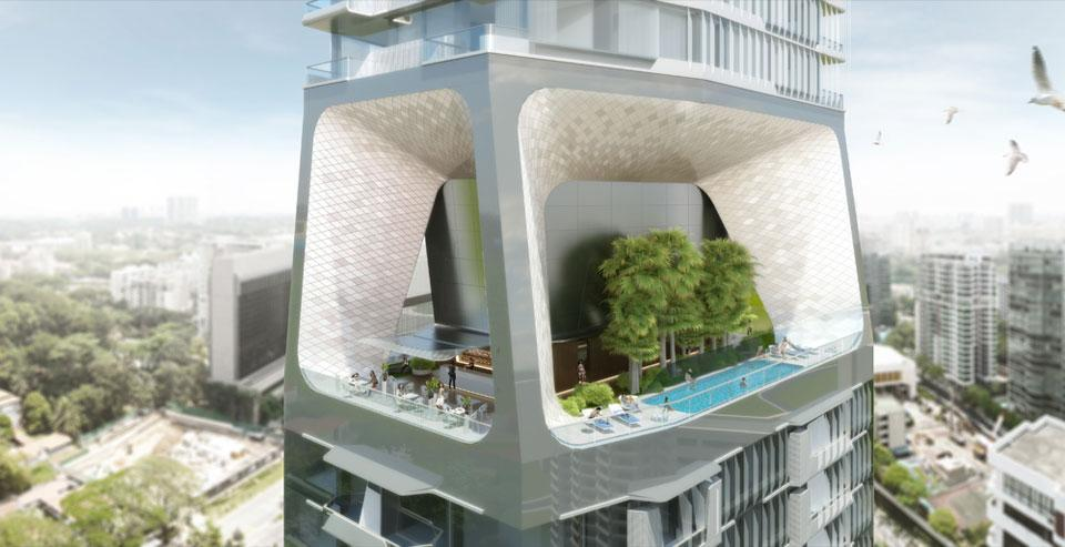 Unstudio 39 s office building news domus for Domus building cleaning