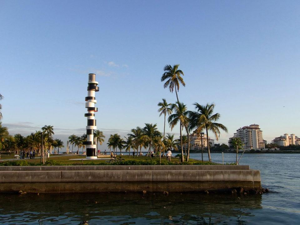 Rehberger: a lighthouse for Miami Beach