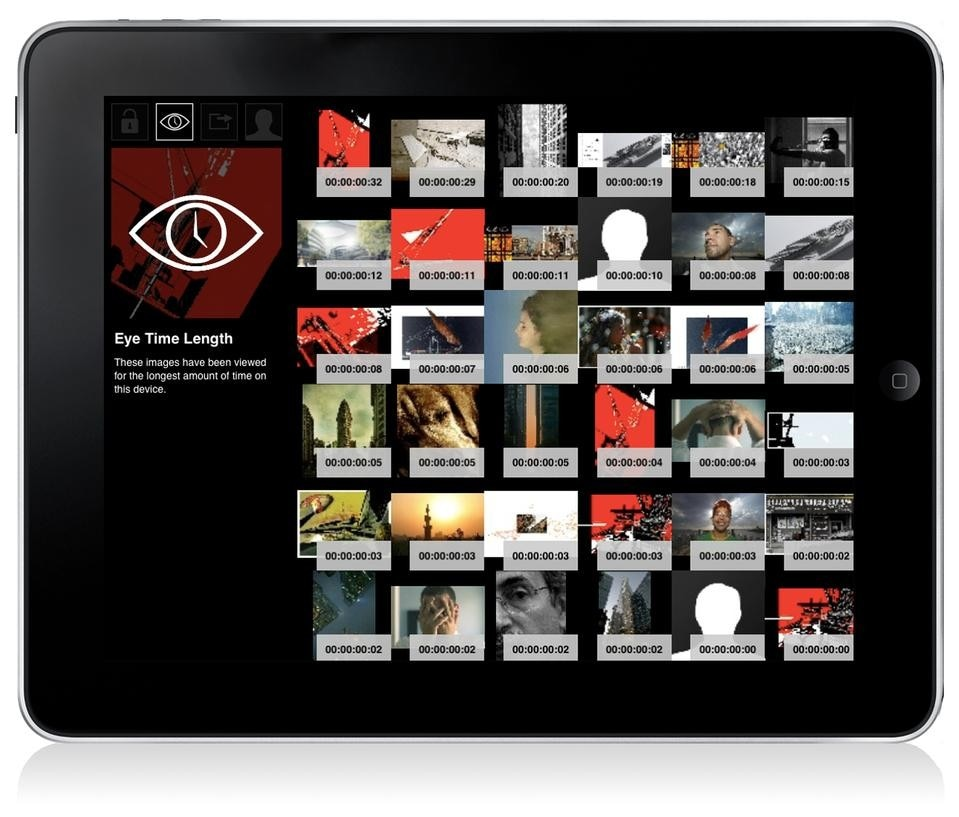 "Morpholio tracks the amount and type of viewing time, ""Eye Time,"" an image receives, and constantly