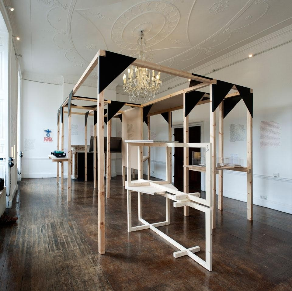 <em>Zak Kyes Working With...</em> installation view