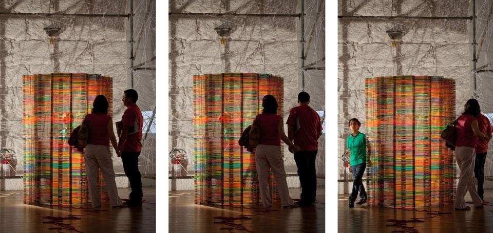 Like Architects, <em>Chromatic Screen</em> at the Oporto Show 2012