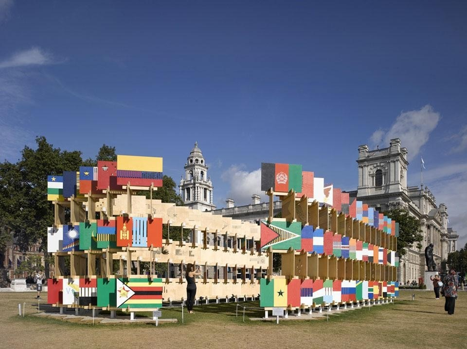 AY Architects, <em>House of Flags</em>, Parliament Square, London
