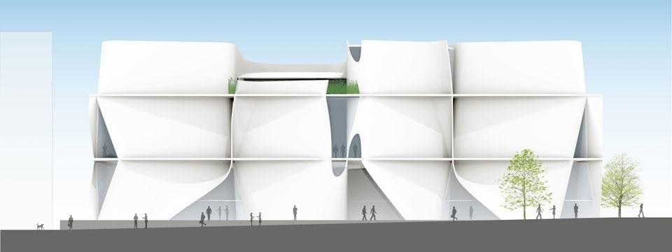 Toyo Ito & Associates, UC Berkeley Art Museum and Pacific Film Archive, project
