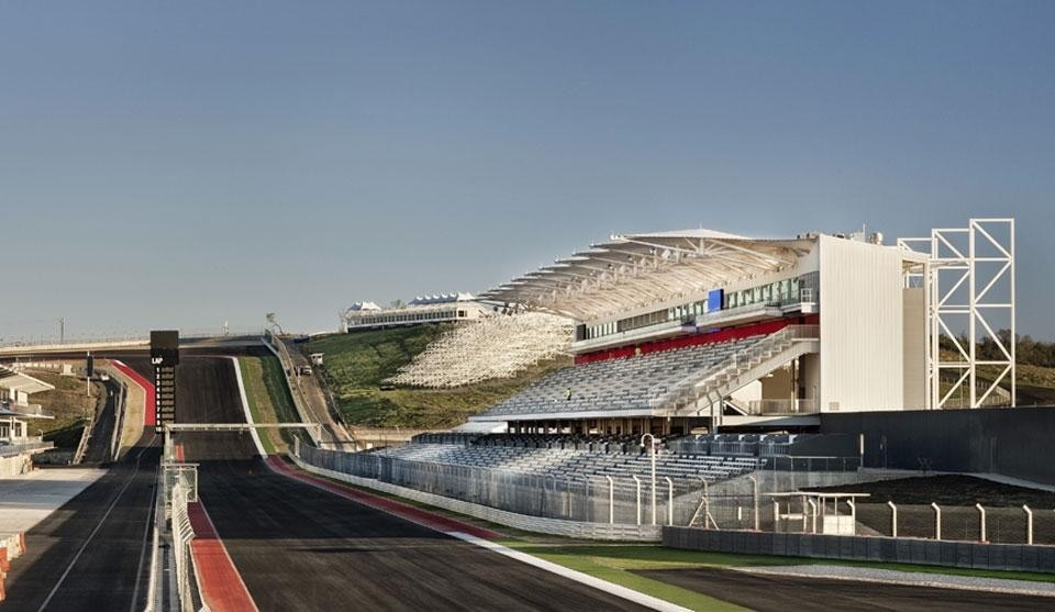 Miró Rivera Architects, Circuit of The Americas, Austin, USA 2012