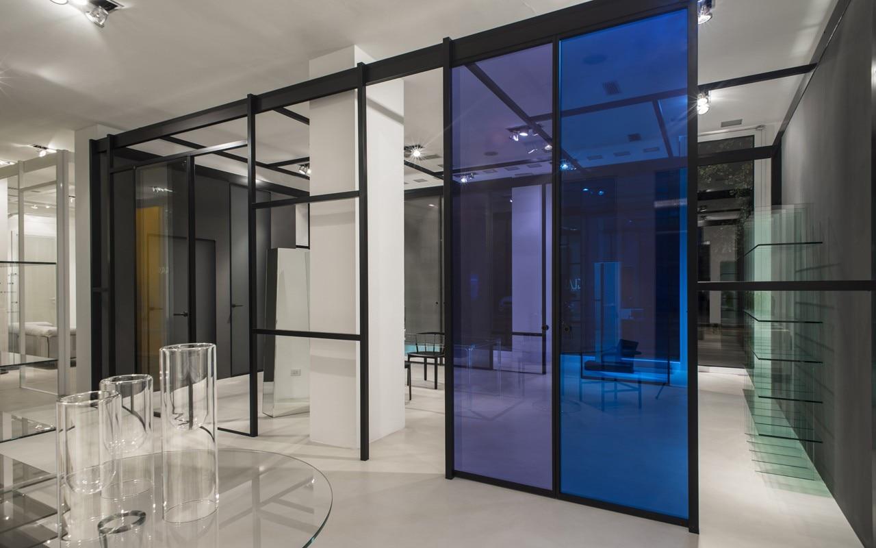 Moderne Glas Italia in Milan - Domus PF-65