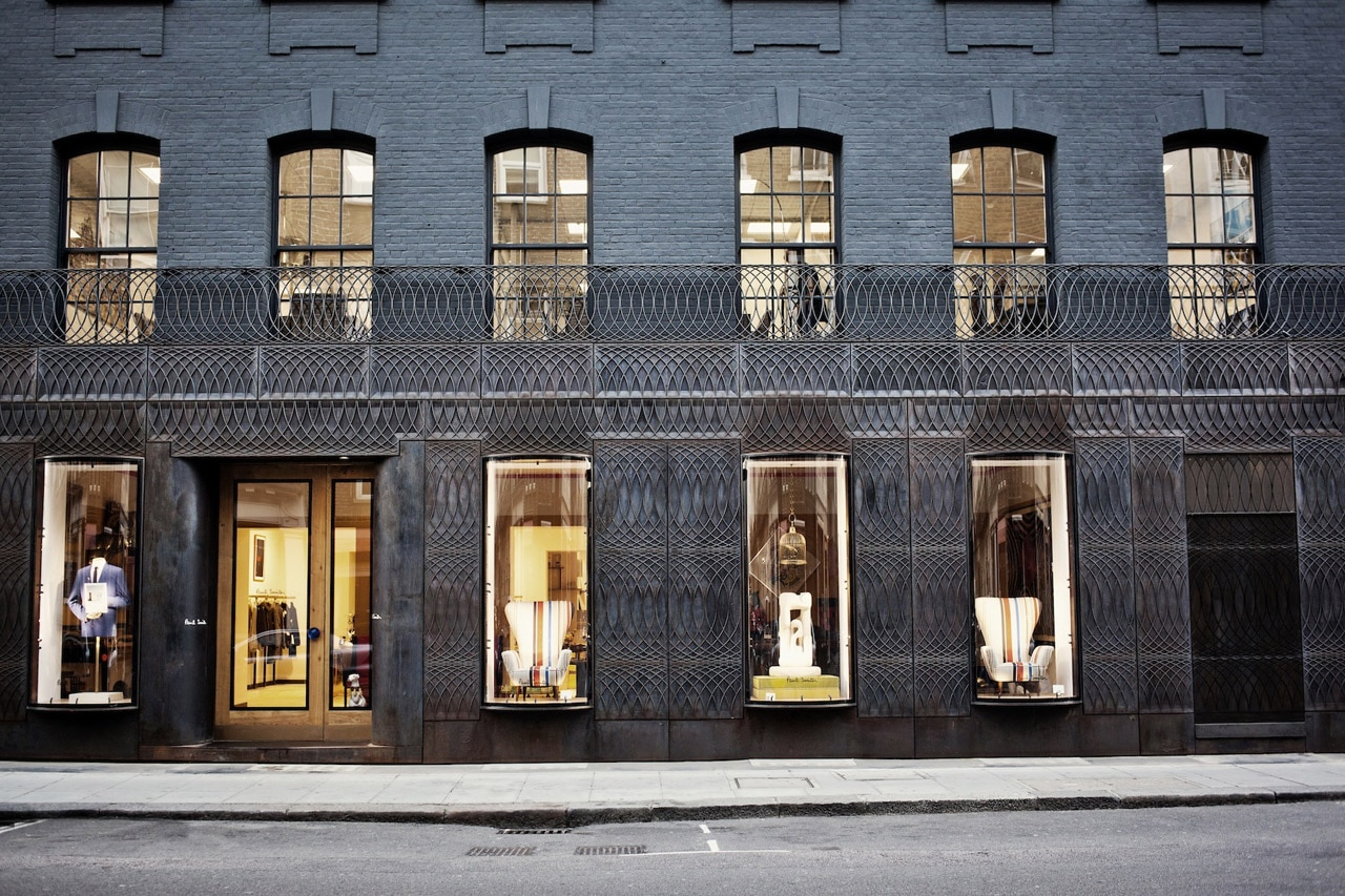 6a architects paul smith for Shops exterior design