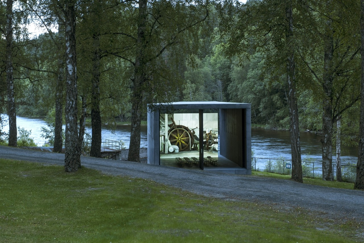 A2 Architects, Pulp Press at Kristefos Museum, Kistefos, Norway