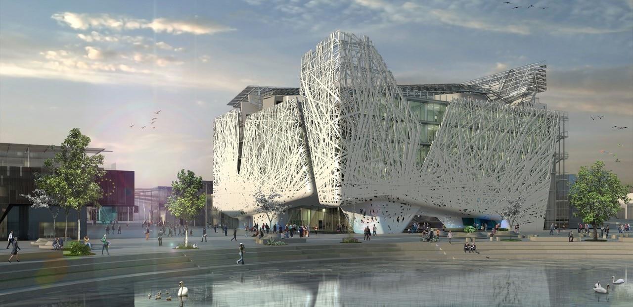 Expo italy pavilion domus - Domus decor dubai ...