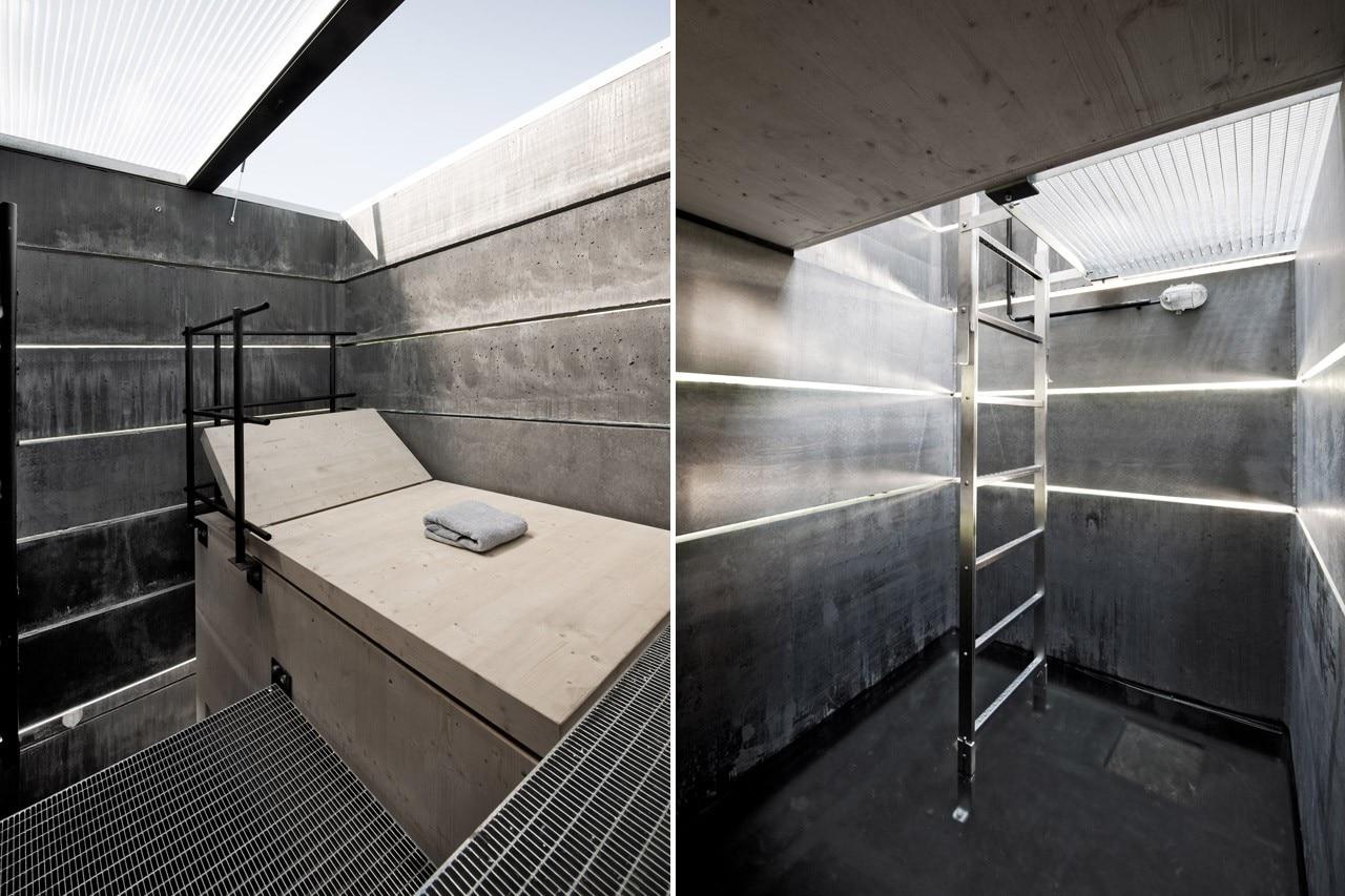 one man sauna domus. Black Bedroom Furniture Sets. Home Design Ideas