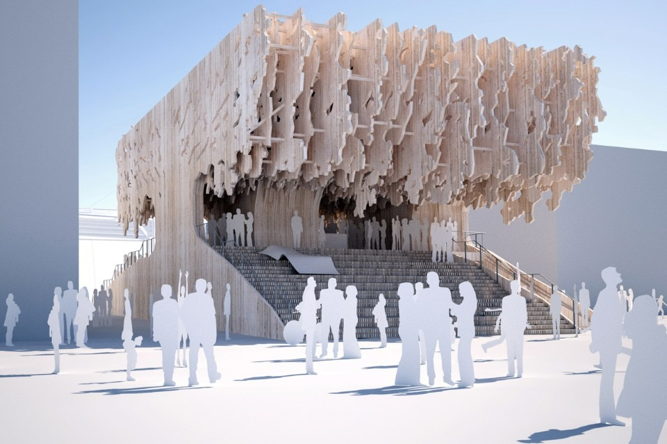 MADE arhitekti, Latvian Pavilion, Apiary of Life, Expo Milano 2015