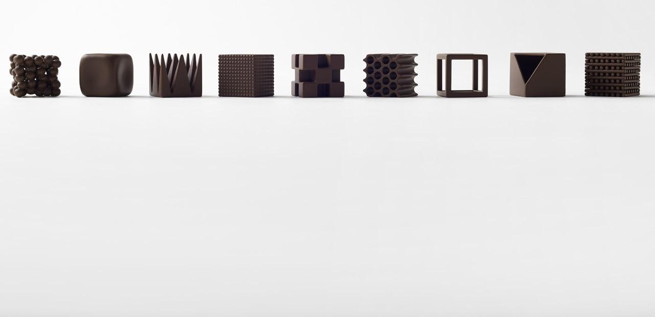 Nendo: Chocolatexture