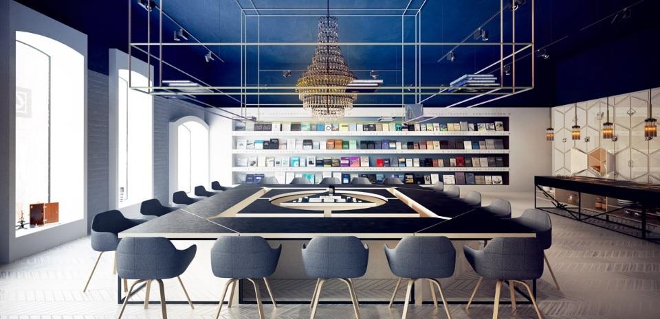 Science library-café - Domus