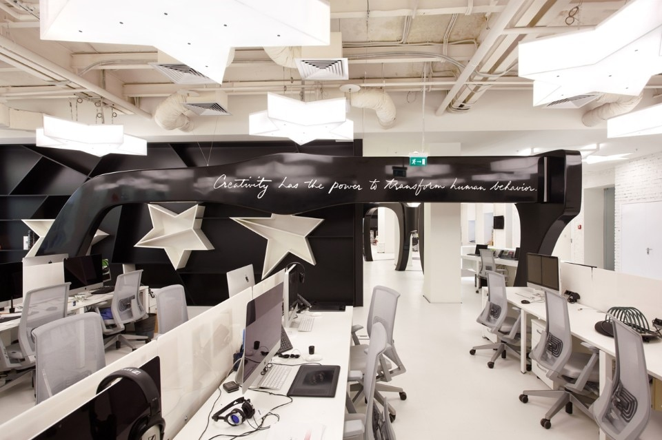 nefa architects leo burnett office moscow