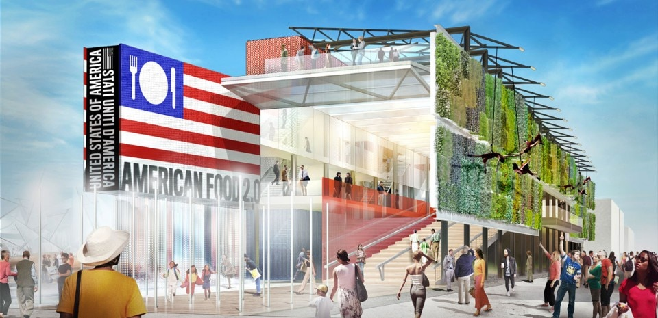 Biber Architects, American Food 2.0, USA Pavilion, Expo Milano 2015