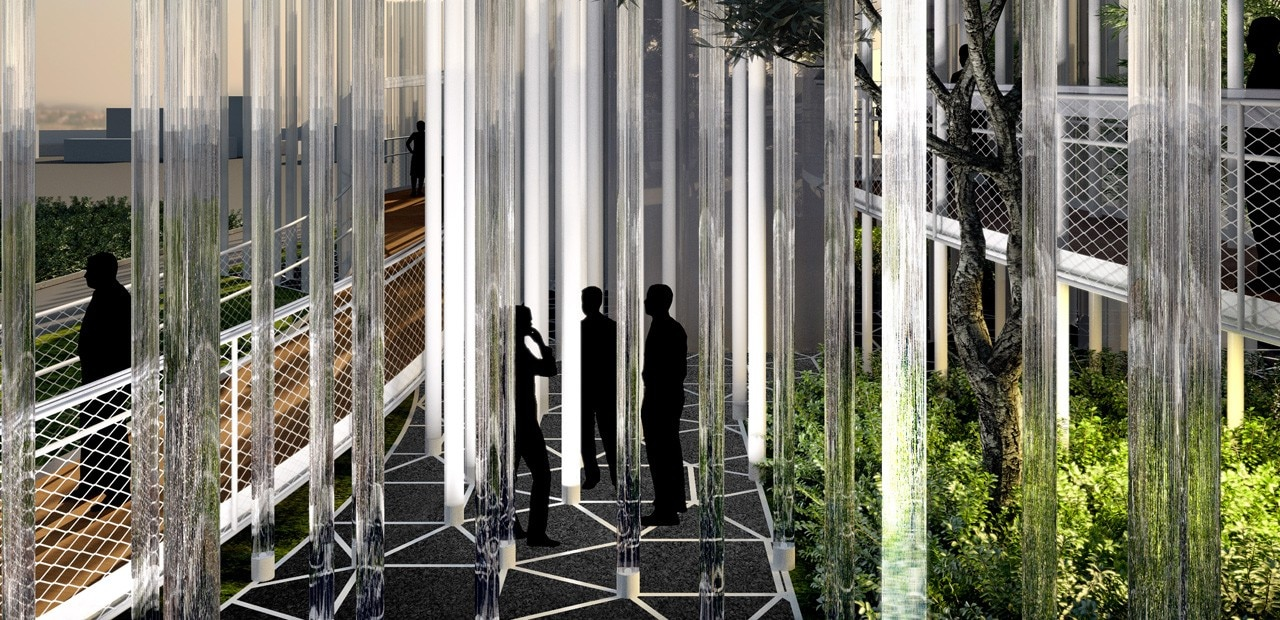 Expo 2015 Stand Enel : Sharing the energy domus