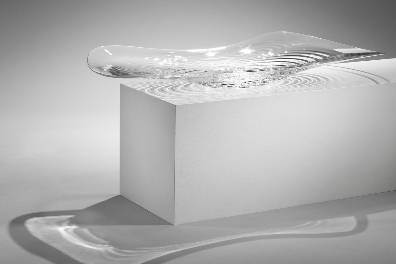 Liquid glacial collection for Zaha hadid liquid glacial