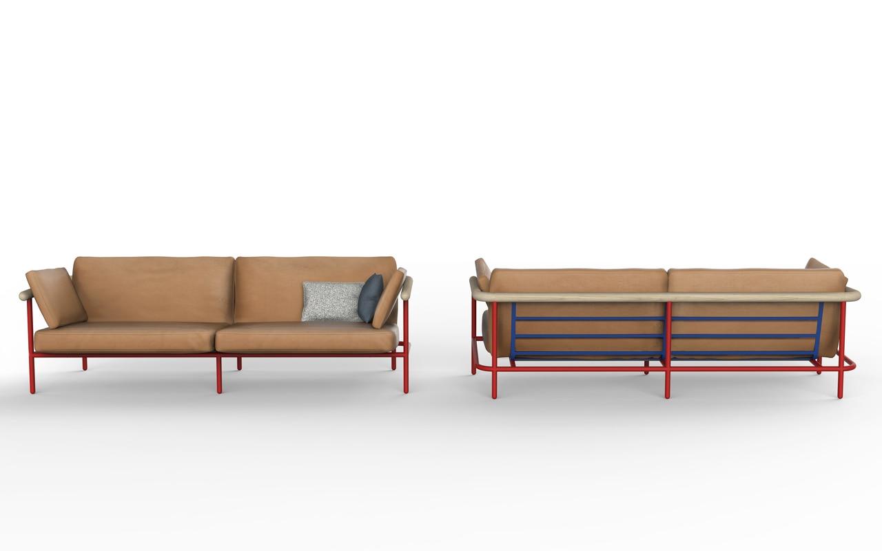 Alain gilles x ray sofa - Hoek sofa x ...