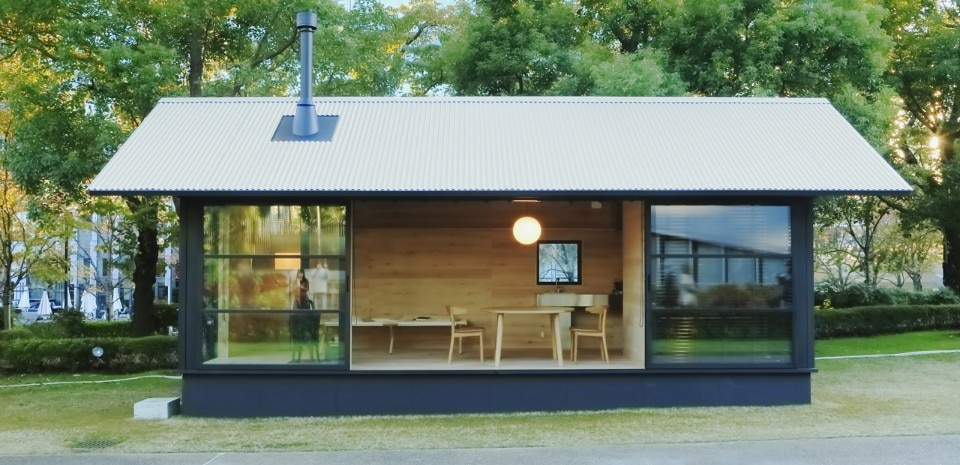 Muji hut domus for Micro costruttori di cottage