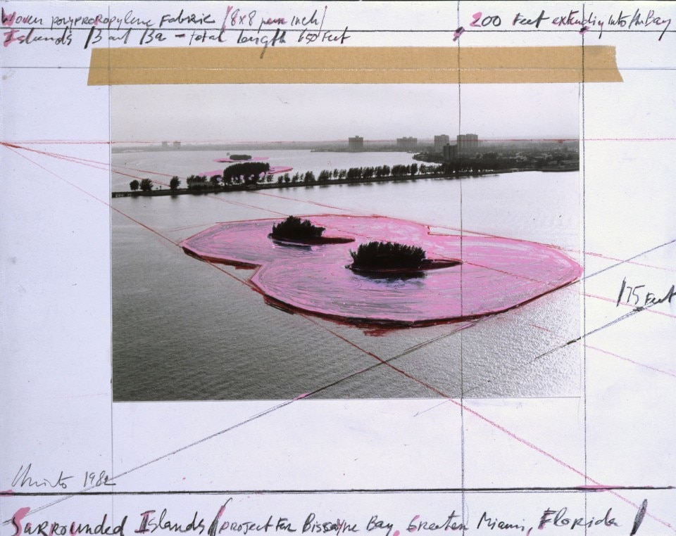 Christo and Jeanne-Claude, Surrounded Islands, Key Biscayne, Florida, 1980-83 - domus