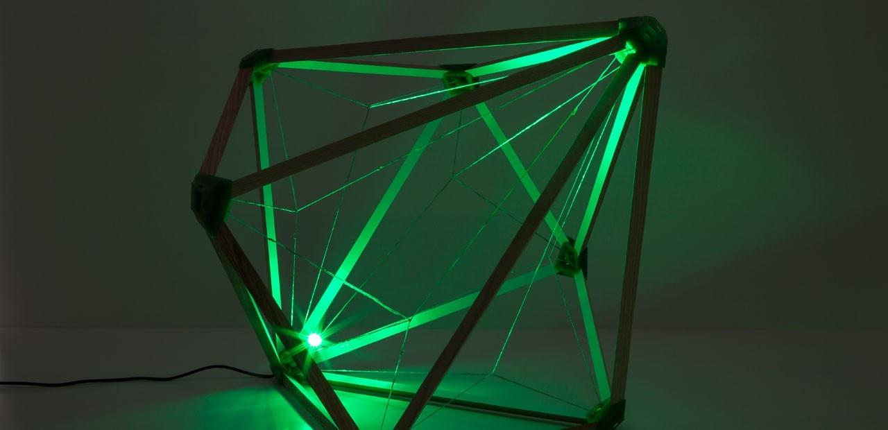 Eliasson green light domus for Domus green