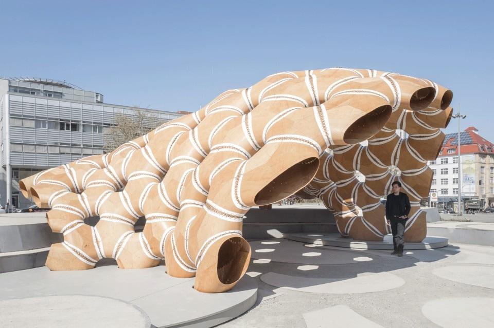 biomimetic pavilion domus. Black Bedroom Furniture Sets. Home Design Ideas